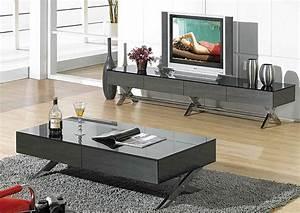 Table Tv Design : module tv stand j tv stands star modern furniture ~ Teatrodelosmanantiales.com Idées de Décoration