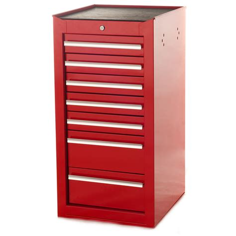 Purchase 7 Drawer Red Side Cabinet Toolbox Storage From