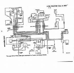 Ihs3543 Farmall 706  U0026 806 Gas Restoration Quality Wiring
