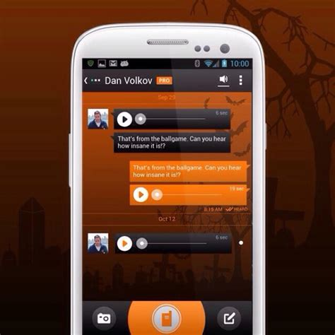 voxer for android voxer for android ios walkie talkie text message app
