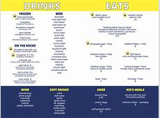 Menu The Loading Dock St Louis' Only Waterfront