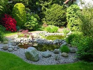 Kiesflächen Im Garten : teiche bachl ufe quellsteine und becken von koch garten und landschaftsbau ~ Markanthonyermac.com Haus und Dekorationen