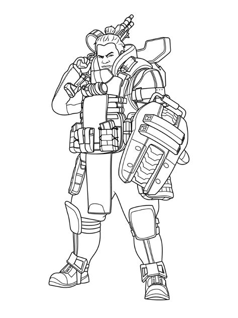 gibraltar apex legends coloring play  coloring game