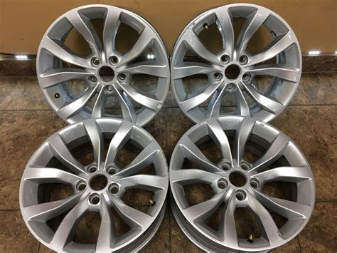 chrysler 200 300 17 quot oem wheels rims 5pq10trmaa set of 4