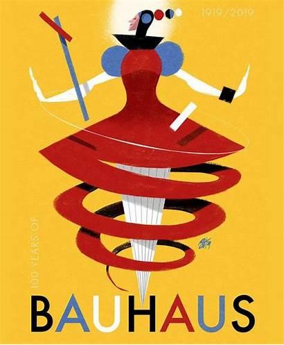Bauhaus Ballet Poster Movement Schlemmer Oskar Triadic