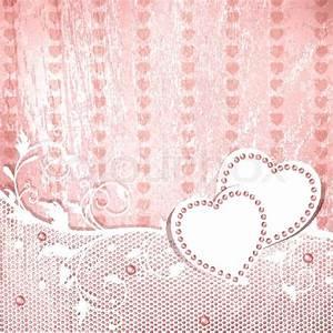 Wedding vintage pink background | Stock Vector | Colourbox