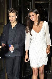 | Paul Wesley and Nina Dobrev Paul and Nina leaving their ...