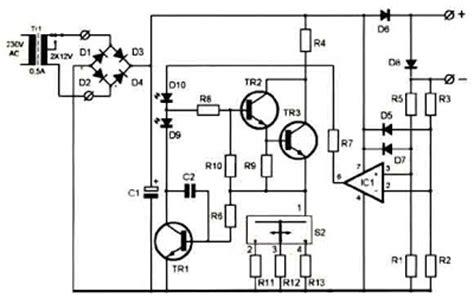 super ni cd battery charger   circuit diagram
