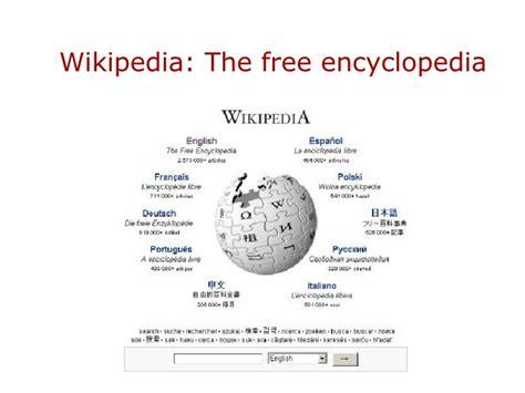 Wikipedia The Free Encyclopedia
