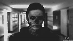 tate langdon skull | Tumblr