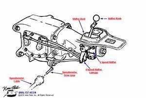 1963 Corvette Shifter Parts