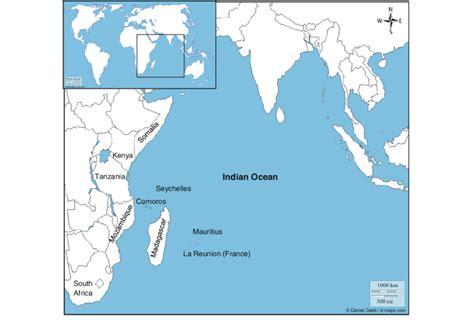map   indian ocean source wwwd mapscom  wio