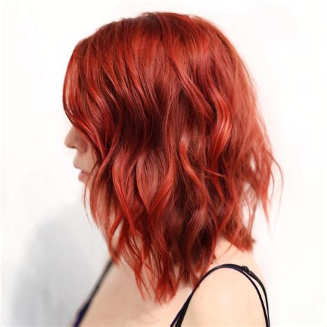 20 Cool Styles With Bright Red Hair Color Updated For 2019