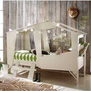 Lit Maison Enfant : lit cabane pour chambre d enfants marie claire ~ Farleysfitness.com Idées de Décoration