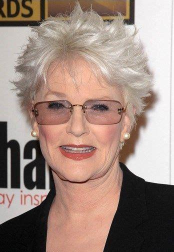 older women hairstyles short shag gray hairstyles