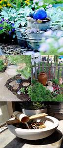 Diy, Water, Feature, Ideas, To, Make, Your, Home, And, Garden