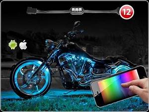 12 Pod iOS Android App WiFi Control LED Motorcycle LED