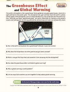 The Greenhouse Effect And Global Warming Lesson Plan For