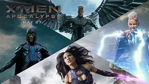 X Men Apocalypse Les Quatre Mutants De Lapocalypse En