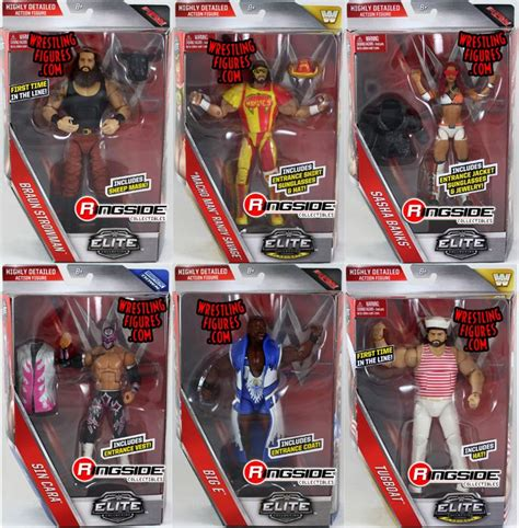 wwe elite  toy wrestling action figures  mattel  set includes macho man randy savage