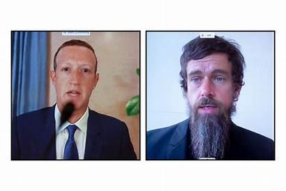 Mark Zuckerberg Jack Dorsey Valley Evolution Faces