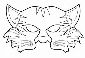 tiger mask book show and jungles on pinterest With jungle animal mask templates