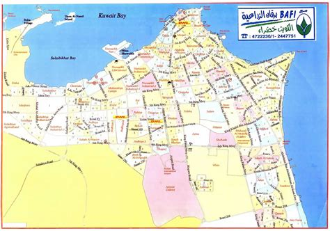Map Of Kuwait And Surrounding Countries And Travel