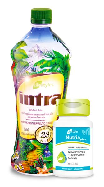 Lifestyles | Products - Intra & NutriaPlus