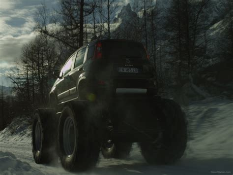 Fiat Panda Monster Truck 2018 Exotic Car Wallpapers 02 Of