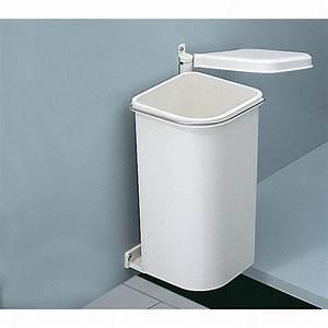 Petite Poubelle Cuisine : petite poubelle 5 litres quincaillerie richelieu ~ Nature-et-papiers.com Idées de Décoration