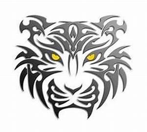 Tribal Tiger Tattoo Designs Men