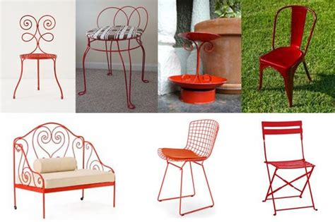paint metal patio furniture images