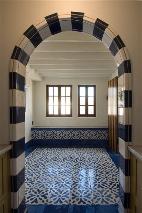 Mission Tile And Santa by Cement Tiles Ablitt House Original Mission Tile