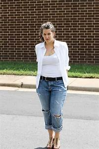 58 best How to Wear Jeans images on Pinterest | Curvy fashion Boy fashion and Casual clothes