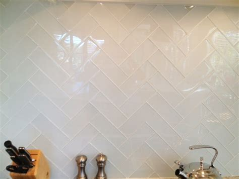 2x8 subway tile herringbone milk and honey home kitchens white glass tile white