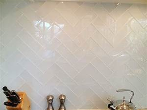 Herringbone Kitchen Backsplash - Design, decor, photos