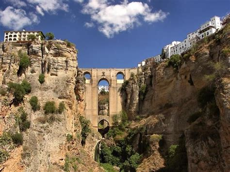 spain andalusia gorge ronda countries bestourism terrain