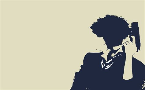 Simple Anime Wallpaper - cowboy bebop spike spiegel anime simple background high