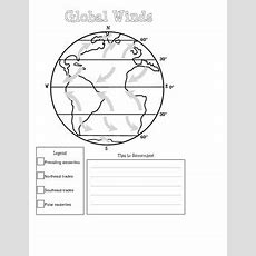Global Winds Diagram By Mighty In Middle School Tpt