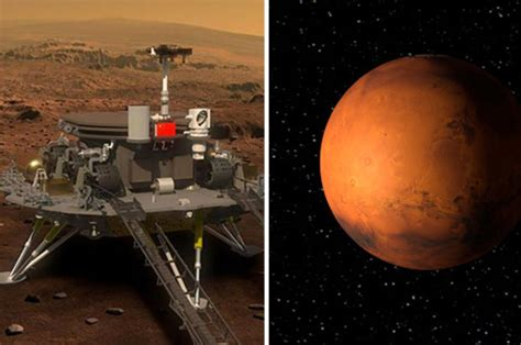 chinas red planet rover revealed   fear  mars