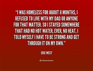 Inspirational Quotes For Homeless People. QuotesGram
