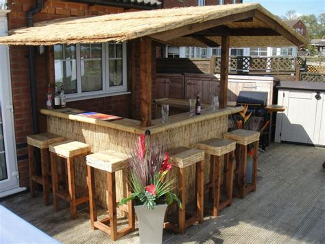 Outside Bar Furniture by This Simple Yet Outdoor Living Space Provides All
