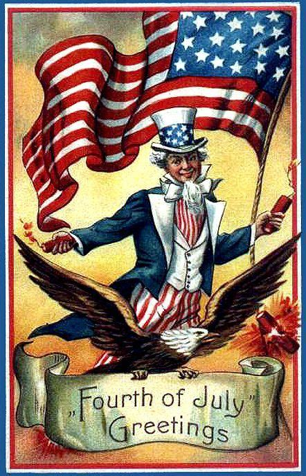 images  vintage postcards patriotic