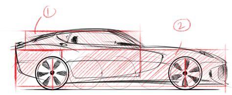 2014 Bmw 4 Series Coupe Concept Car Designer Sketch