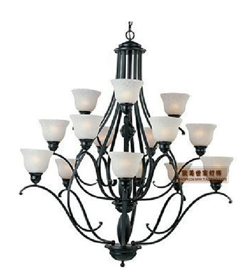 3 layers iron chandelier continental iron chandelier l