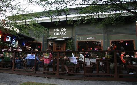Onion Creek Cafe Houston TX   365 Things to Do in Houston Texas
