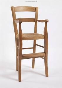 Chaise Haute Pour Bébé : chaise haute en bois massif pour enfant ~ Dode.kayakingforconservation.com Idées de Décoration