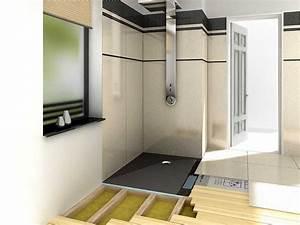Barrierefreie Dusche Nachträglicher Einbau : barrierefreie bodengleiche dusche nullbarriere ~ Michelbontemps.com Haus und Dekorationen