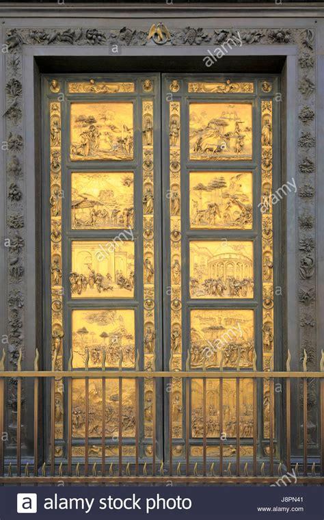 Porta Battistero Firenze by Lorenzo Ghiberti Porta Est Le Porte Paradiso