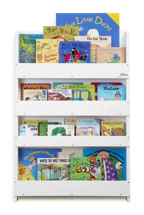 Aufbewahrung Im Kinderzimmer  Preisgekröntes Bücherregal Für Ca 80 Bücher, Weiss, Aus Holz, Von Tidy Books